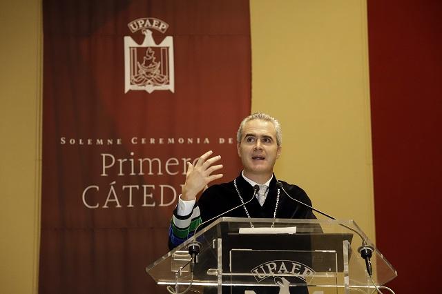 Será un proceso largo reducir inseguridad: rector de Upaep