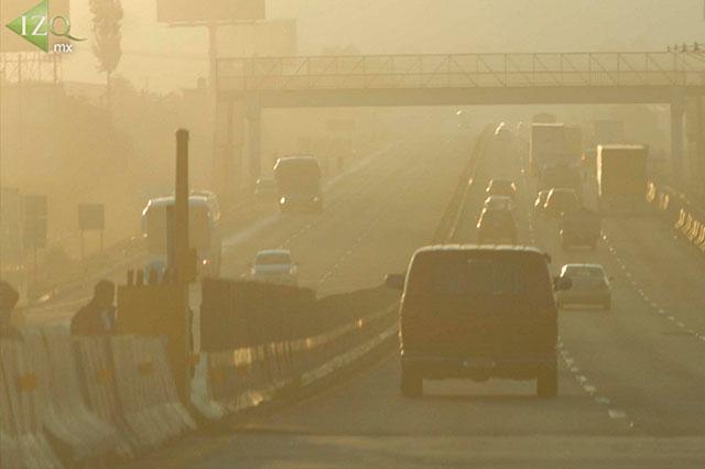 Se eleva otra vez la contaminación y llega a 136 puntos IMECA