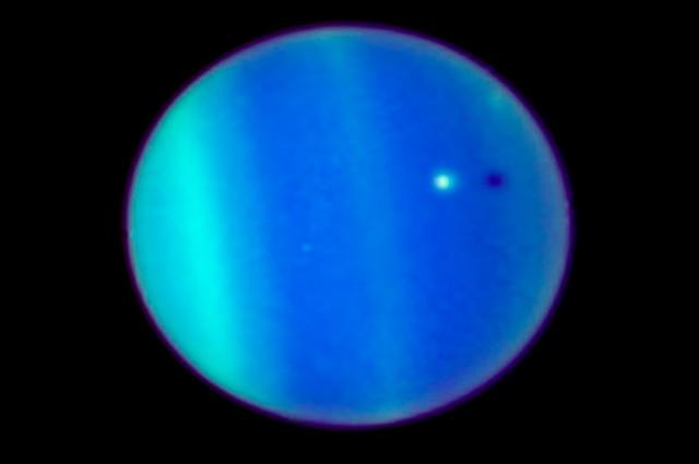 NASA recuerda la primera vez que capturan eclipse solar en Urano