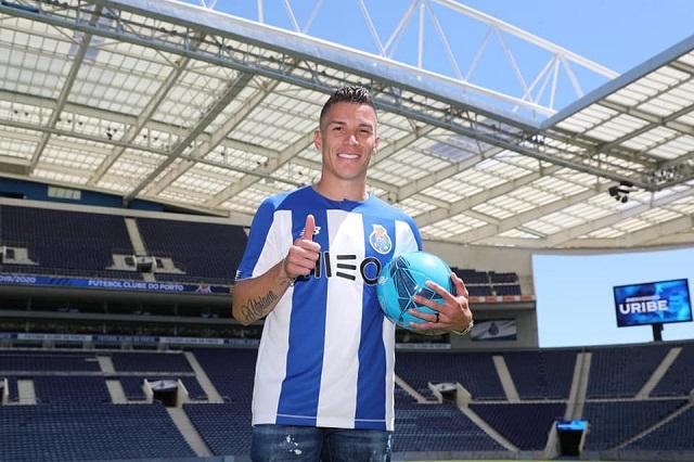El colombiano Uribe ya viste los colores del Porto