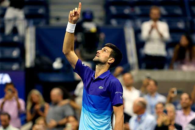 US Open: Djokovic está en la semifinal y apunta al Grand Slam 21