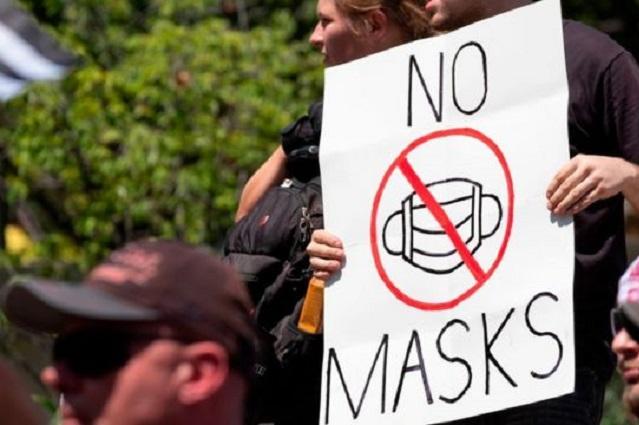 USA vuelve a pedir uso de cubrebocas en lugares cerrados