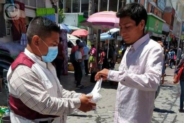 Uso obligatorio de cubrebocas hasta octubre en Tehuacán