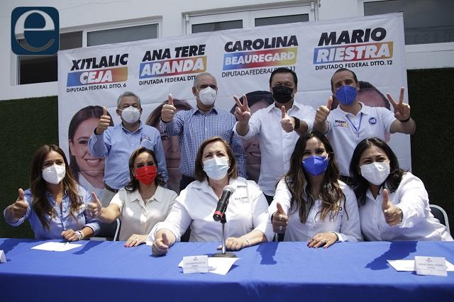 Va por México aprovecha en spot escándalo del morenista Huerta
