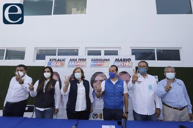 Riesgo de conflictos en distrito 12 en Puebla: Va por México