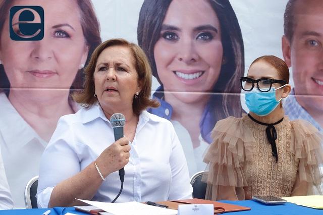 Gobiernos de Morena persiguen a candidatos opositores: Aranda