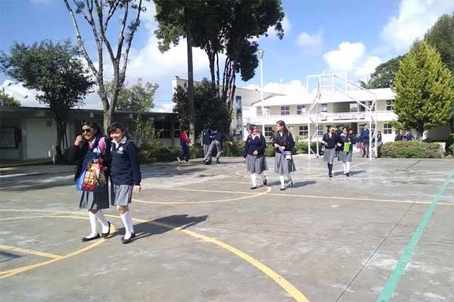 Por vacaciones terminan clases el viernes 12 mil escuelas de Puebla