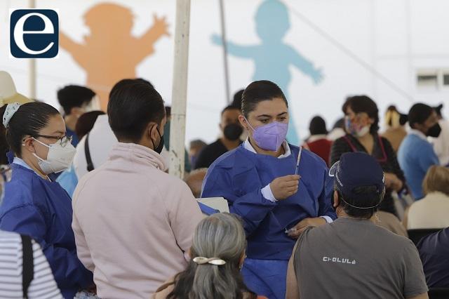Aguardan dosis adultos de 50 en la Mixteca y embarazadas