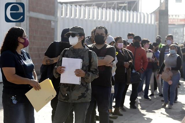 Por fin, vacuna para los de 30 años y más en Puebla capital
