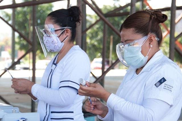 Vacunarán a maestros de Puebla del 19 al 28 de mayo, confirman