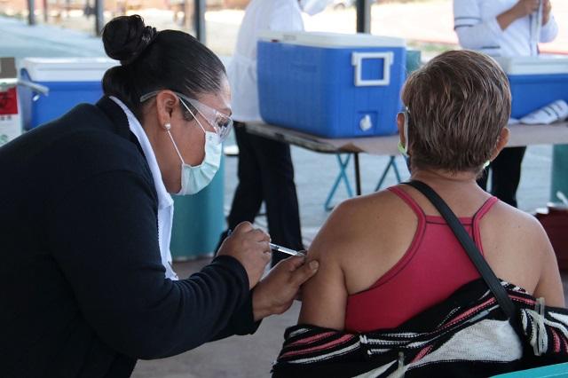 En municipios remotos de Puebla, vacuna de una sola dosis: Salud