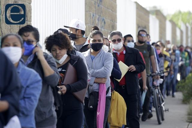 Por segundo día, más de 400 casos covid en Puebla