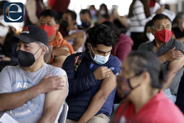 Va segunda dosis de AstraZeneca para 50 y más en 31 municipios