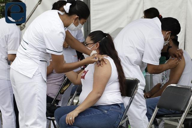 Entre 21 y 40 años de edad, 38% de casos covid en Puebla