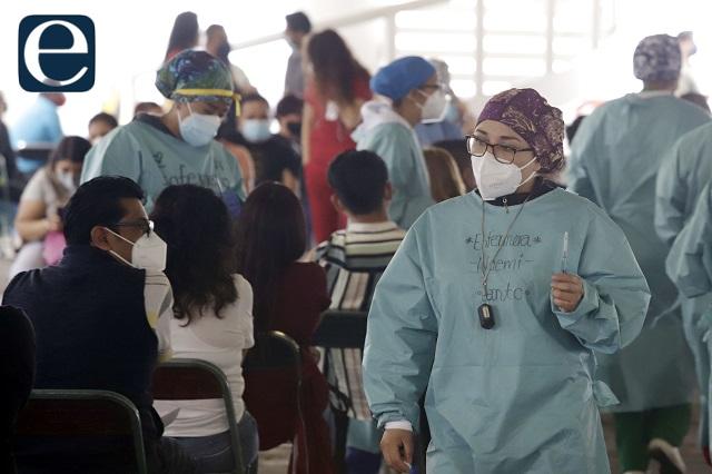 Está en 85% la vacunación a los de 50 años y más, en Puebla