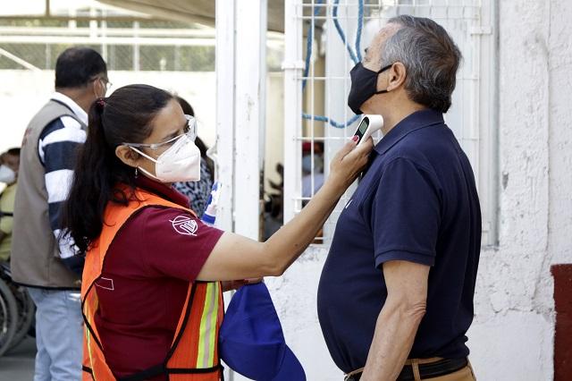 Registra Puebla 115 nuevos contagios y 22 muertes por Covid