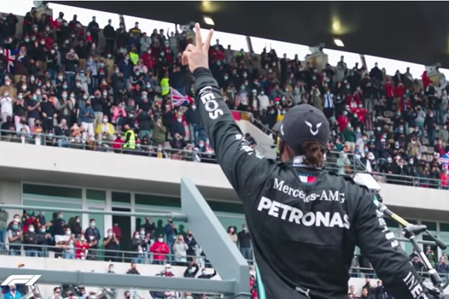 Foto: Captura de pantalla de YouTube / FORMULA 1