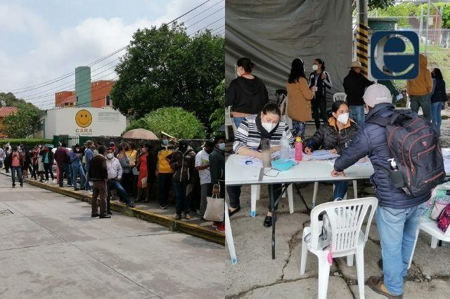 En Zacapoaxtla y Huauchinango inicia campaña masiva de vacunación