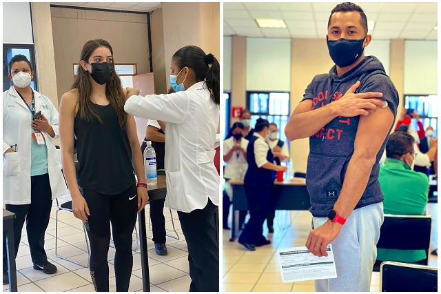 Tokio 2020: atletas mexicanos recibieron primera vacuna anticovid
