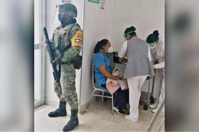 Desmienten irregularidades en proceso de vacunación en Huauchinango