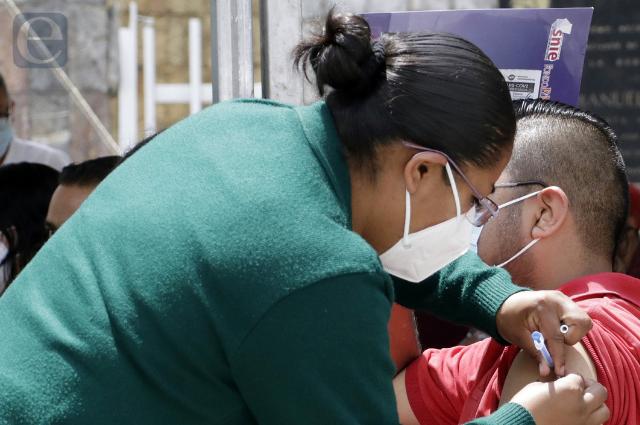 Así será la vacunación de 18 y más en municipios de Puebla