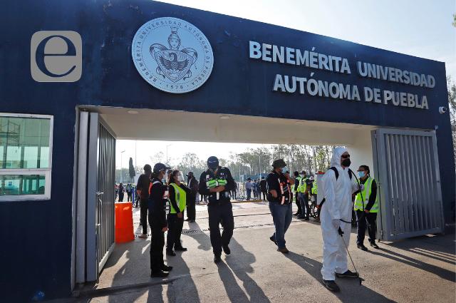 Gobierno, fuera de la sucesión de rector en la BUAP: Barbosa