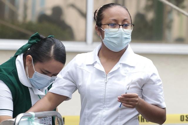 En Puebla, 8 trabajadores de la salud tienen Covid-19