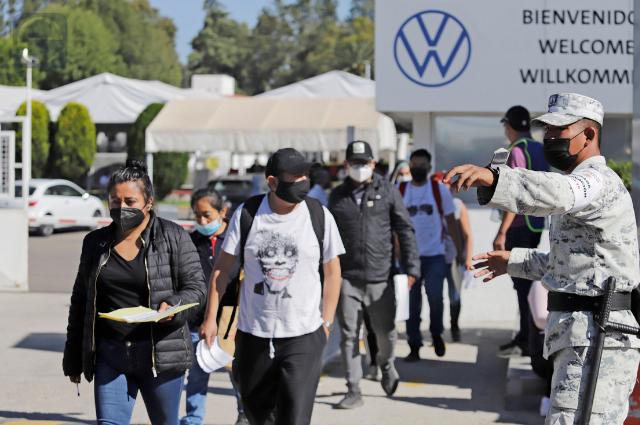 VW prestó su Club Deportivo para jornadas de vacunación