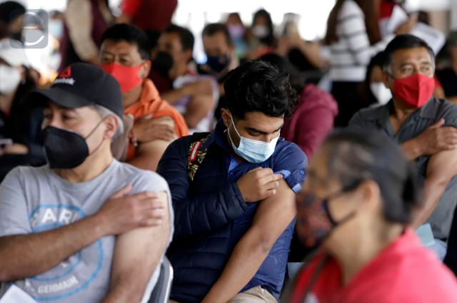 Salud Federal reporta lento avance de vacunación en Puebla