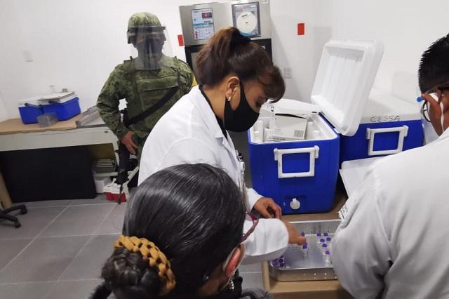 En tiempo récord llegan vacunas contra Covid-19 a Huauchinango
