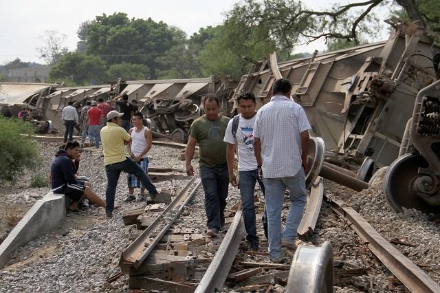 Cañada, Chalchicomula y Tepeaca, los favoritos de asaltantes de trenes