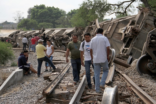 Asaltos a trenes aumenta 176% durante 2018 en Puebla