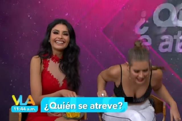Top traiciona a Vannesa Claudio y muestra de más en vivo