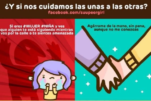 """""""Agárrame de la mano"""" la campaña para protegernos entre mujeres"""
