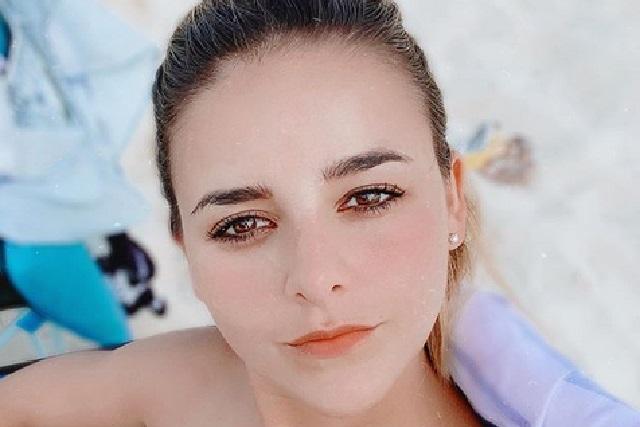 Vania, hermana de Danna Paola, se muestra al natural, con estrías y celulitis