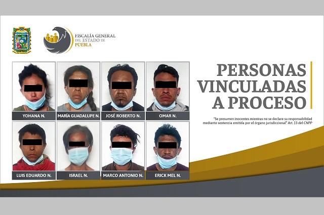 Van a prisión 8 por robo en escuela de Lomas de San Miguel