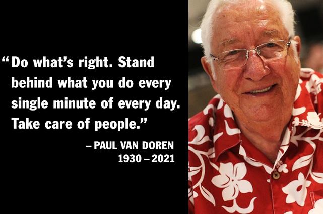 A los 90 años, muere Paul Van Doren, el creador de los tenis Vans
