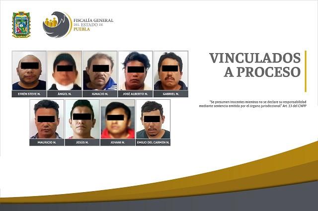 Por violencia familiar procesan a 9 hombres en Puebla