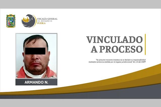 Va prisión preventiva por agredir a su esposa, en Puebla