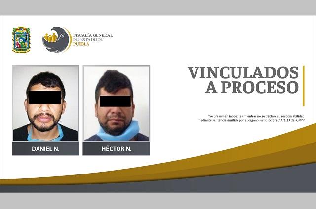 Prisión a hermanos acusados de doble homicidio en Puebla