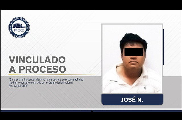 Vinculan a proceso a homicida de hombre en Tlapanalá