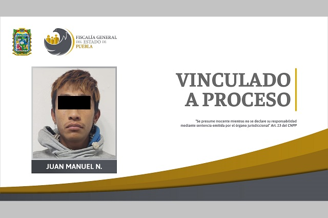 Vinculado a proceso por homicidio de estudiante en Puebla