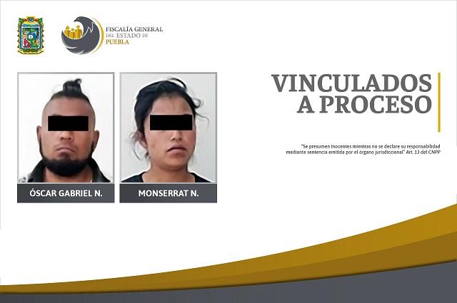 Hombre y mujer presos por secuestro exprés en Grajales