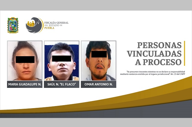 Van a prisión preventiva tres hombres por llevar drogas