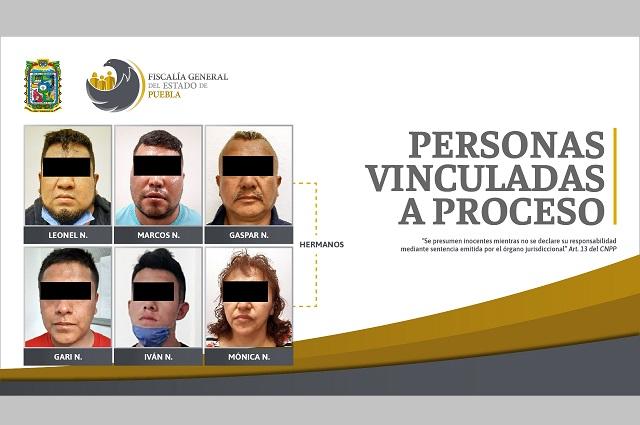 Vinculan a proceso a 6 por secuestro de general en Puebla