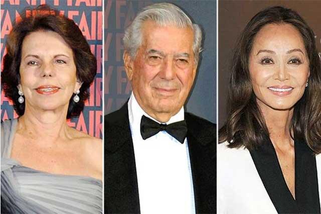 Vargas Llosa presenta demanda de divorcio a Patricia Llosa