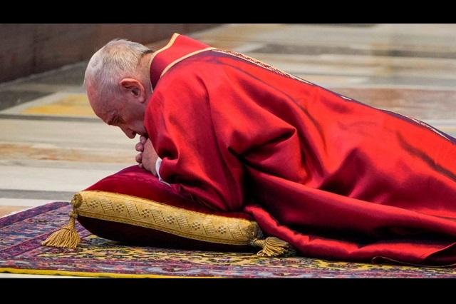 Dios es aliado nuestro, no del virus, dice el Papa Francisco