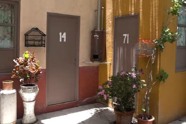 Así se ve la réplica de la vecindad del Chavo del 8