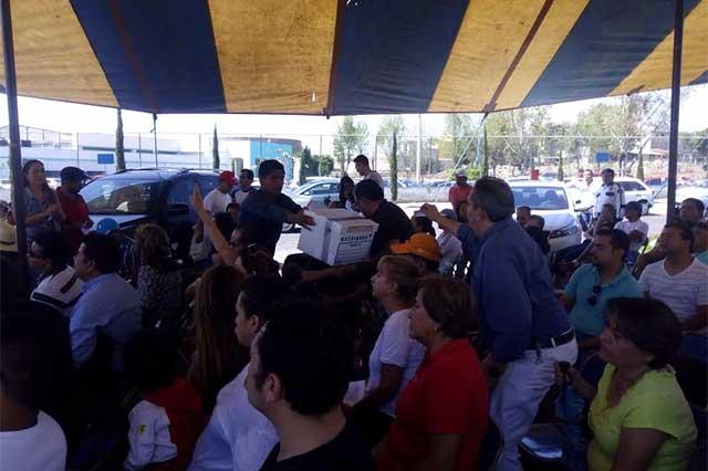 Van por presidente de Lomas del Valle por irregularidades