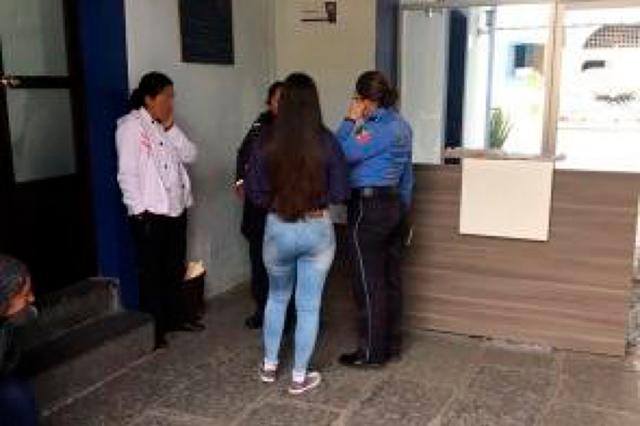 SSP atiende a mujer víctima golpeada por su pareja sentimental